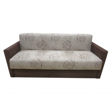 Couch Triglav can be ordered in various different lenghts. Unfolded into a bed it has a width of 85 cm and comes in different colors and materials.